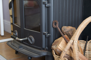 Woodburner - perfect for a cosy cottage